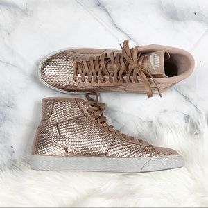 Nike Blazer Python Rose Gold Mid *LIMITED EDITION*